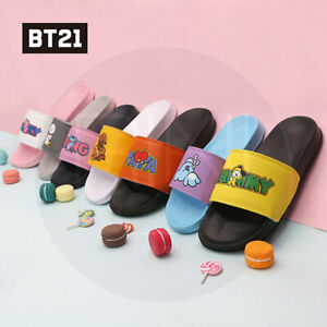 BTS-BT21-Official-Authentic-Goods-POP-Slipper-220-250mm-7Characters-Tracking