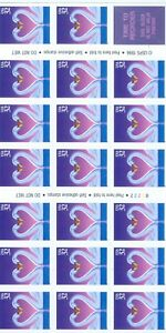 US-3123a-BOOKLET-PANE-OF-20-32c-STAMPSISSUED-1996-2222