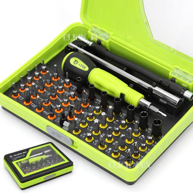 53in1 Screwdriver Precision Tool Torx Screw Driver Set Kit Repair PC Mobile  AU