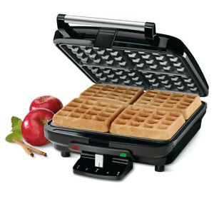 Cuisinart 4 Slice Electric Belgian Waffle Breakfast/Dessert Maker Non-Stick SLV