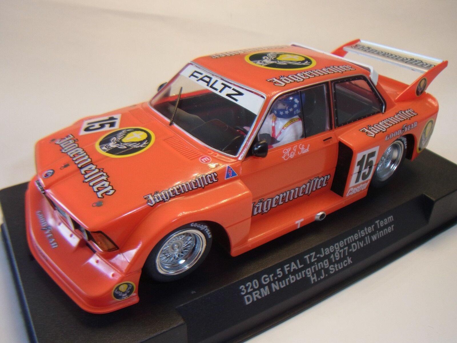 Sideways by Racer BMW 320 H. J. Piece Team Jägermeister SW41B Slot Car Racing