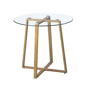 Image Is Loading Round Kitchen Side Table Living Room Dining