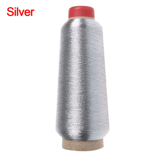 Metallic Yarn Gold//Silver Wire Cross Stitch Sewing Machine Embroidery Thread