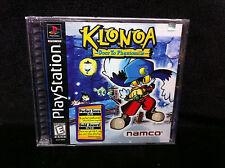 Rare Factory Sealed Y-Fold KLONOA: Door to Phantomile NEW PlayStation 1 PS1 1997