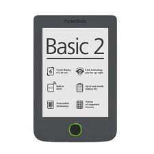 "Brand NEW Pocketbook Basic 2 B614 Grey 6"" E-ink Pearl E-Book Reader 1GHz CPU 4GB"