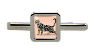 Shorthaired-Cat-Square-Tie-Clip
