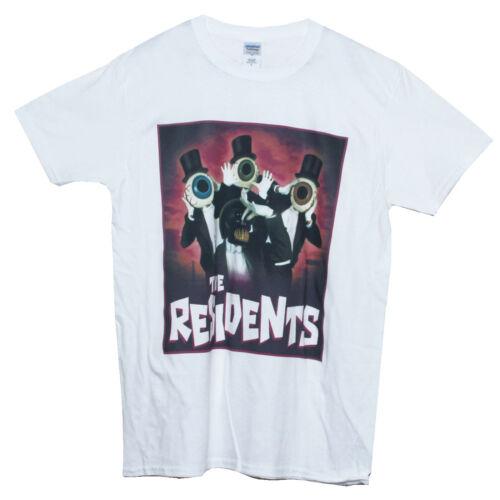 Art Avant-Garde The Residents T SHIRT Noise Punk Rock Graphic Band Tee Unisex