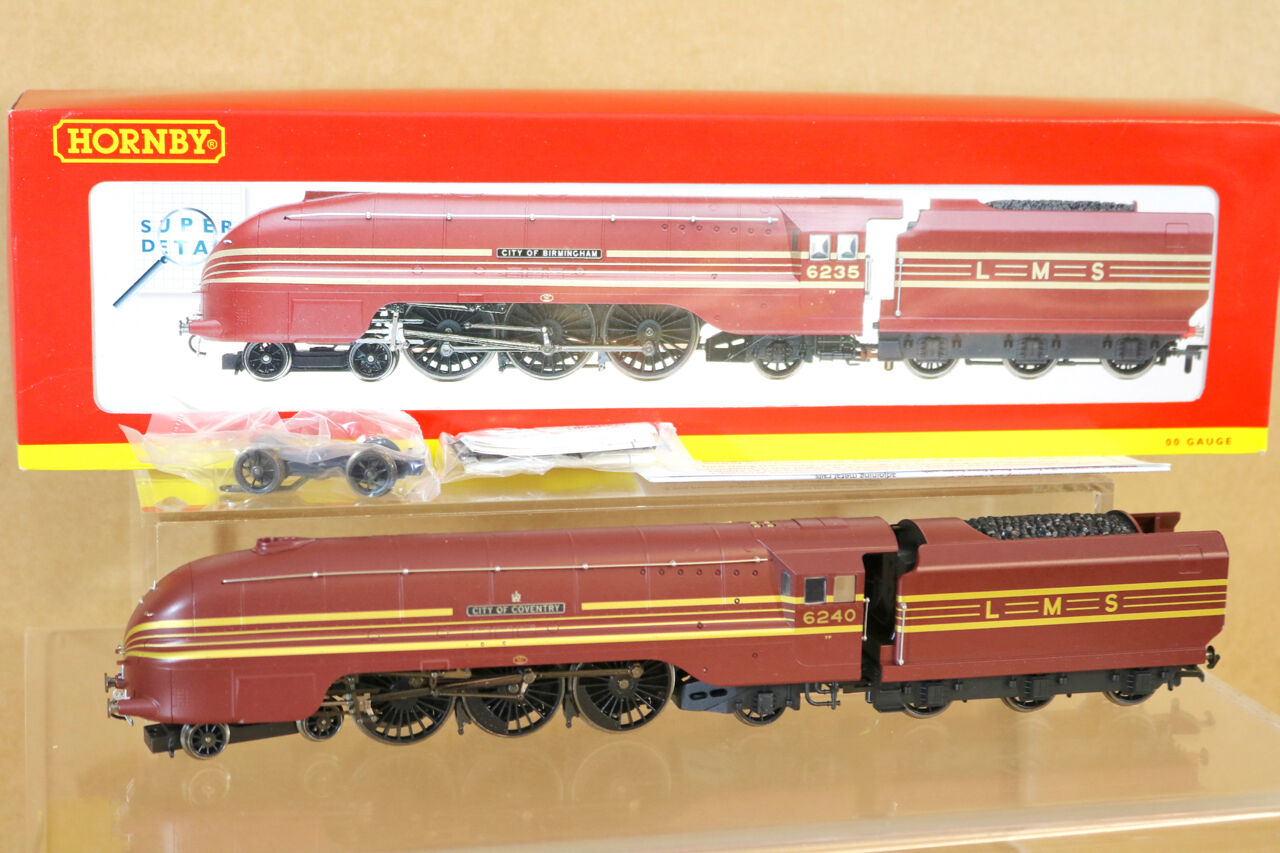 Hornby TMC233 R2205 Lms 4-6-2 Cgoldnación Class Loco 6240 City Of Coventry NG