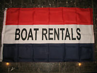 3x5 Advertising Boat Rentals Marketing Flag 3' X 5' Banner Grommets