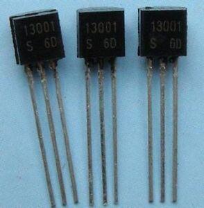 100PCS MJE13001 E13001 13001 Transistor TO-92 NEW