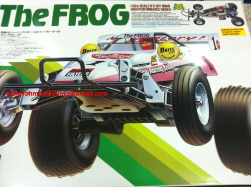 tamiya 58354 1//10 RC Car 2WD Off Road Racer Buggy The Frog Assembly Kit w//ESC