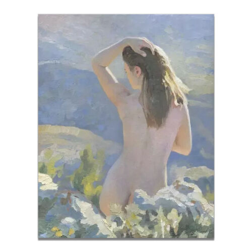Naked Women Painting Canvas Poster Picture Bedroom Wall Hangings Home Art Decor