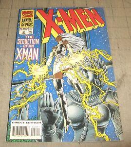 X-MEN Annual #3 (1994) VG- Condition Comic - The Seduction of an X-Man