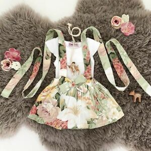 AU-Toddler-Newborn-Baby-Girl-Floral-Romper-Top-Short-Skirt-Dress-Outfits-Clothes