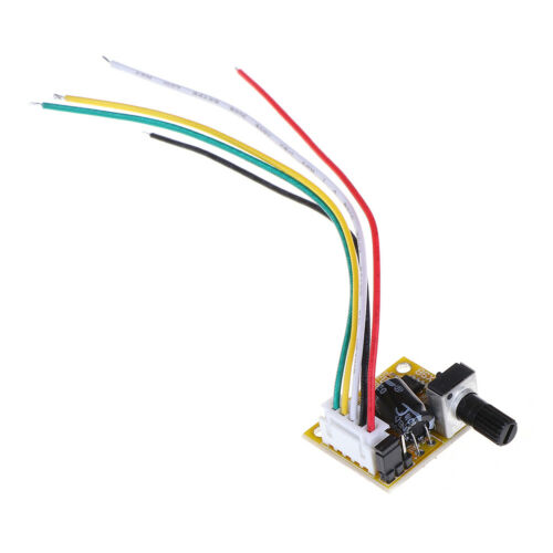 DC 5V-12V 2A 15W Brushless Motor Speed Controller No Hall BLDC Board module WCY