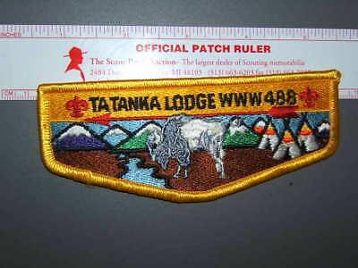 Boy Scout OA 488 Ta Tanka flap 0435L