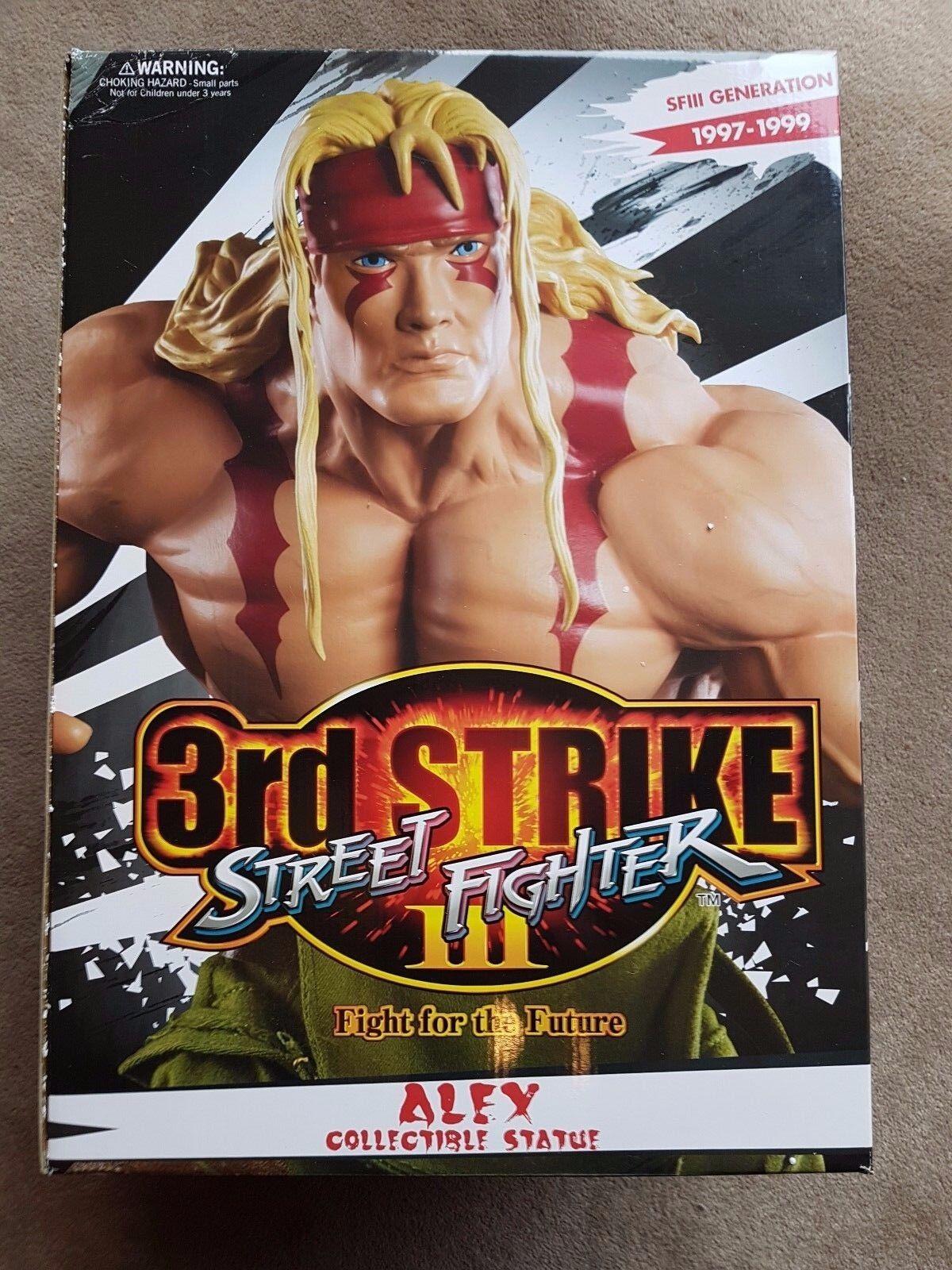 PCS POP CULTURE SHOCK 1 4 ALEX - STREET STREET STREET FIGHTER - STATUE 2a2fe4