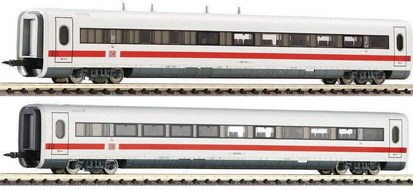 Fleischuomon N 744502 Set 2 Supplemento Vagoni Ice 1 DB Epoche VI Nuovo