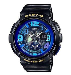 Casio-Baby-G-BGA190GL-1B-Dual-Dial-World-Time-Gloss-Black-COD-PayPal