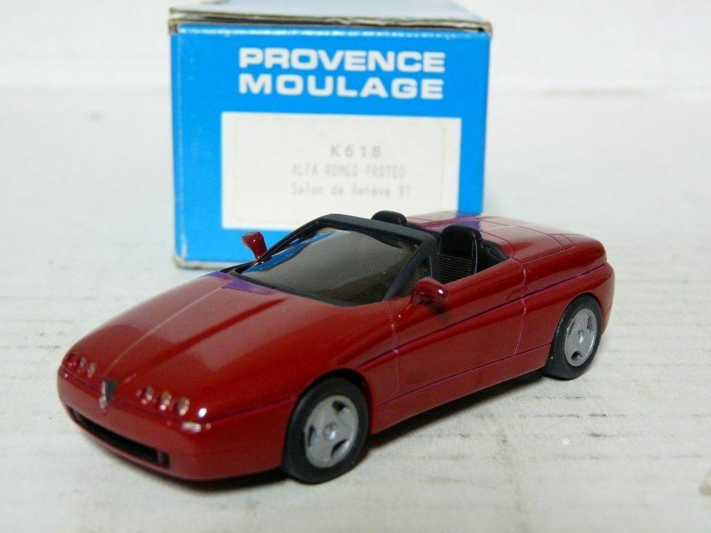 Provence Moulage K618 K618 K618 1 43 Alfa Romeo Predeo Concept Resin Handmade Model Kit c18c8f