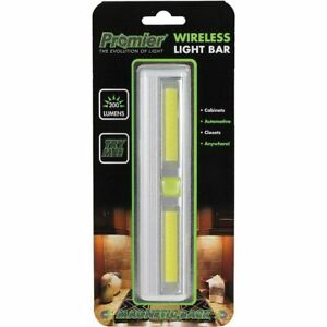 2 Promier Universal Portable Under Cabinet Wireless 200 Lumens Led