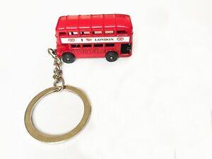 I love London Key Chain Bus key souvenirs Uk Flag England Union Jack Keyrings