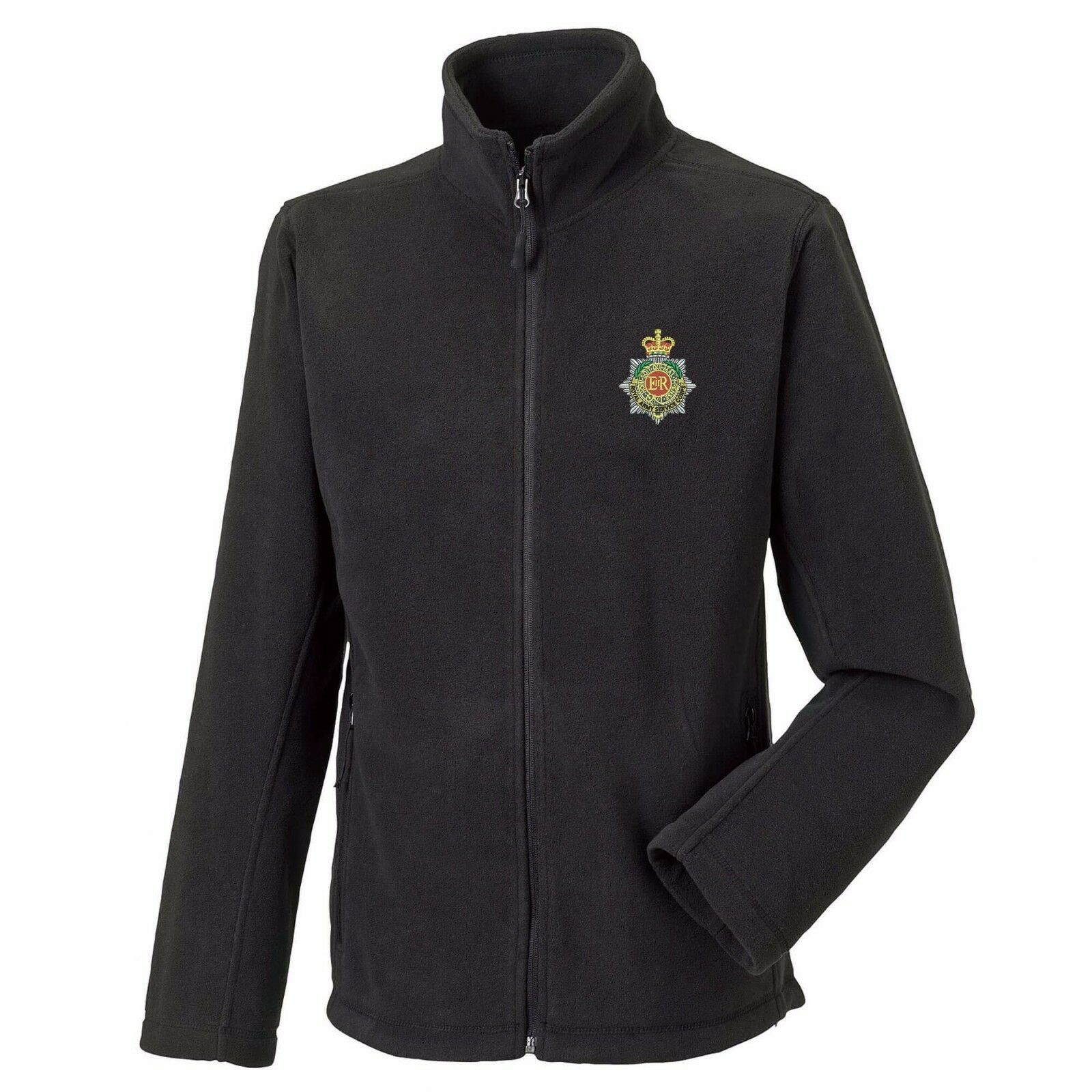 Royal Army Service Full Zip Fleece Embroidered Logo