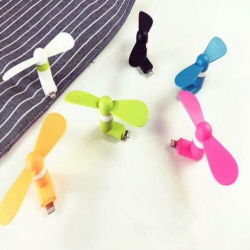 Portable Cell Phone Mini Electric Fan Cooling Cooler For Phone//5s//5c//6//6plus SE
