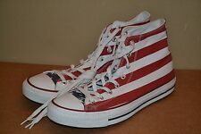 Converse All Star Shoes American Flag 4th of July Stars and Stripes US 11 EUR 45