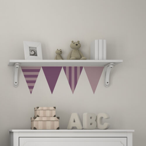 CraftStar Striped Bunting Stencil Pack Horizontal and Vertical Striped Bunting