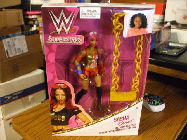 Sasha Banks WWE Superstars Ultimate Fan Pack NEW!