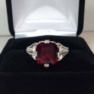 925-Sterling-Silver-Natural-Certified-9-Ct-Ruby-Handmade-Engagement-Ring-For-Her
