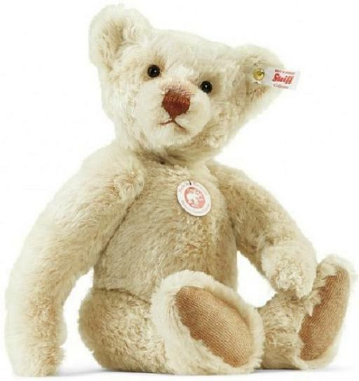 Steiff Steiff Steiff Bear Rasmus LUXURY TEDDY Limited Jointed Ideal Christmas Gift Box 021428 452cad