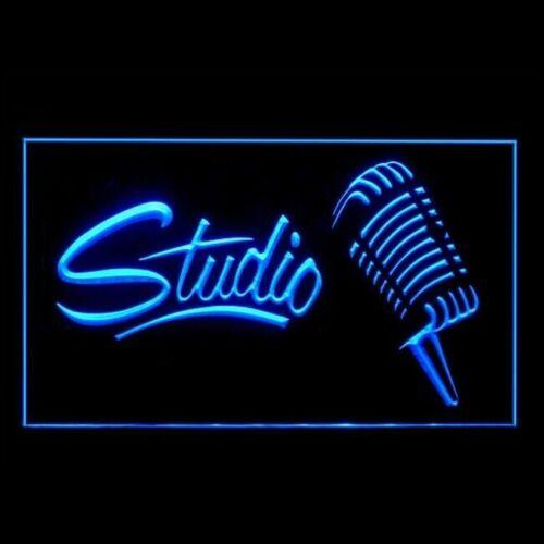 Studio Enregistrement ouvert sur Air Casque Live Display DEL LIGHT SIGN