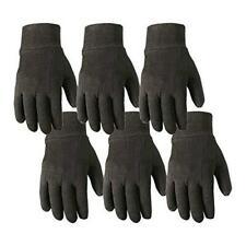 6 Pair Bulk Pack Jersey Cotton Work Amp Gardening Gloves Large Wells Lamont