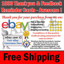 1000 ebay seller professional thank you business cards 5 star 1000 ebay seller professional thank you business cards 5 star rating free colourmoves