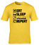 miniature 5 - Eat Sleep Mine Repeat Kids T-Shirt Boys Girls Gamer Gaming Tee Top