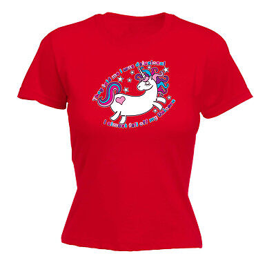 Funny Novelty Tops T-shirt Womens Tee Tshirt - They Told Me I Was Delusional Uni Weich Und Leicht