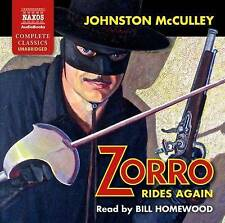 Zorro Rides Again, Johnston McCulley | Audio CD Book | 9781781980194 | NEW