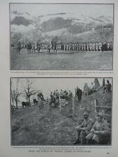 1916 WITH THE AUSTRIAN FORCES OF FRANCIS JOSEPH IN MONTENEGRO WWI WW1