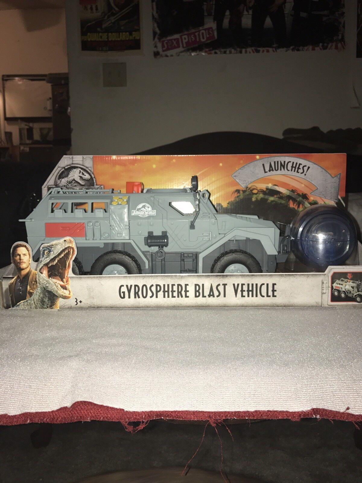 Jurassic World Fallen Kingdom Gyrosphere Blast Vehicle NEW