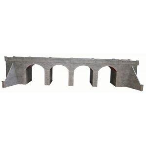 Double Rail Pierre Viaduct - OO/HO CARTE Kit Metcalfe PO241