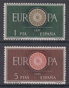 SPAIN-1960-NUEVO-MNH-SPAIN-EDIFIL-1294-95-Sc-941-42-EUROPA-CEPT