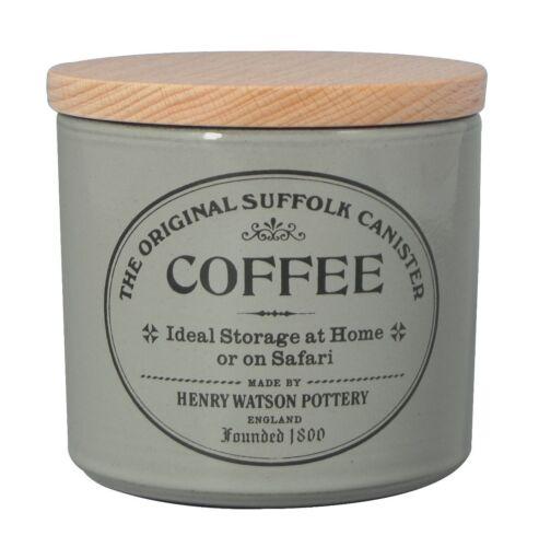 Biscuit vin Ustensile beurre Pain Henry Watson Original Suffolk Pottery bocaux