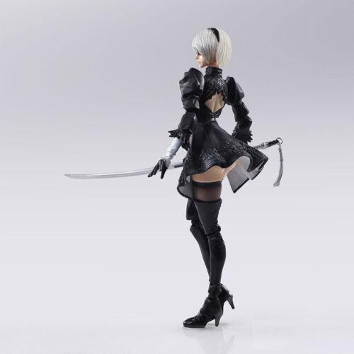 "6/"" NieR:Automata 2B Action Figure Bring Arts YoRHa No.2 Type B Model Toy In Box"