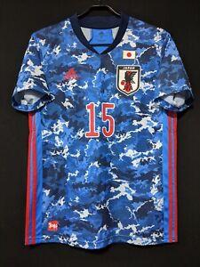 2020-21 JAPAN Home Jersey Soccer Shirt adidas L(Japan Size) OSAKO
