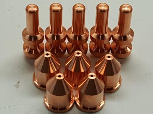 10pc 249929 60A Nozzles for Miller® XT60 Plasma Torch 256026  Electrodes