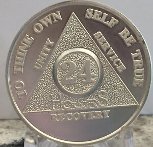24-Hours-999-Silver-AA-Alcoholics-Anonymous-Medallion-Sobriety-Chip-Coin-Hour