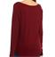 thumbnail 3 - True Craft Thermal Long Sleeves Shirt Burgundy Red Size Jr S