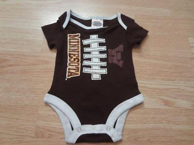 West Virginia Mountaineers Two Tone Football NCAA College Newborn Infant Baby Creeper 12 Months